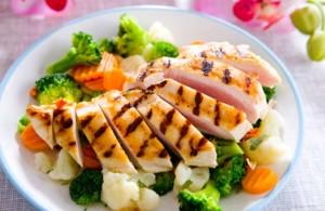 voedingsschema fitness droog